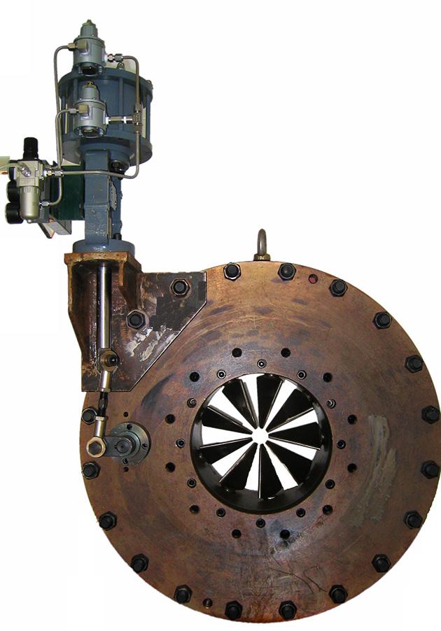 具有体积小,重量轻,输出力大的特点,是专用于驱动压缩机入口导叶的高